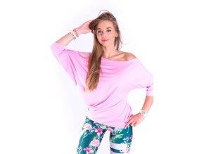 bluzka do tanca pastelowy roz (1)