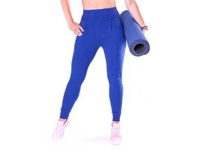 niebieskie spodnie treningowe dla kobiet