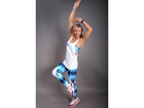 Dámske športové tielko na zumbu, jogu, fitness