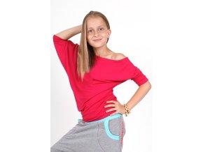 Detské tričko SPONTANIC ružové 1