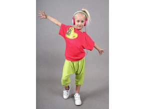 Detské tričko SELENA jahodová