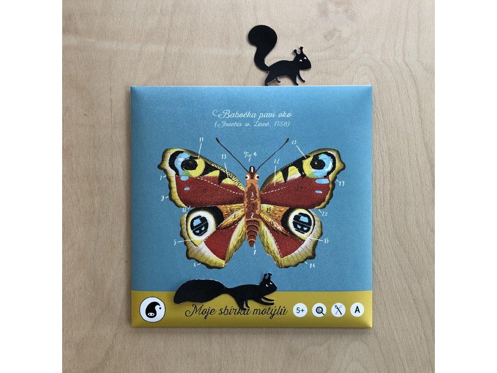 Moje sbírka motýlů