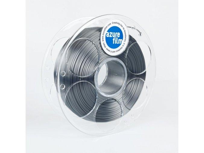 3d printing filament azurefilm silk graphite grey spool