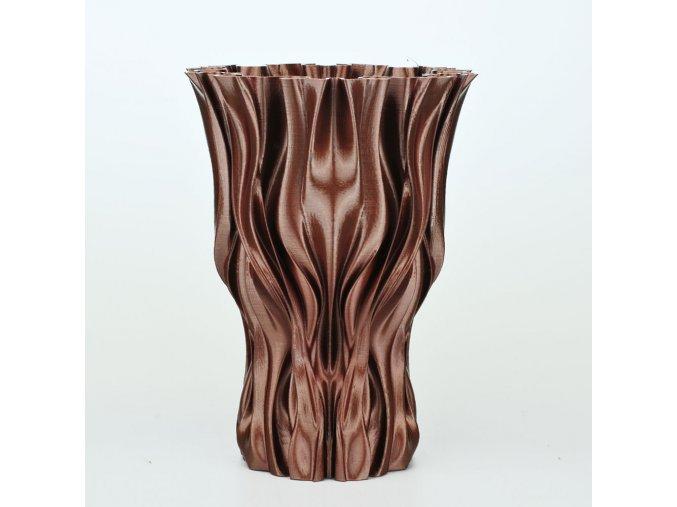 mahogany silk
