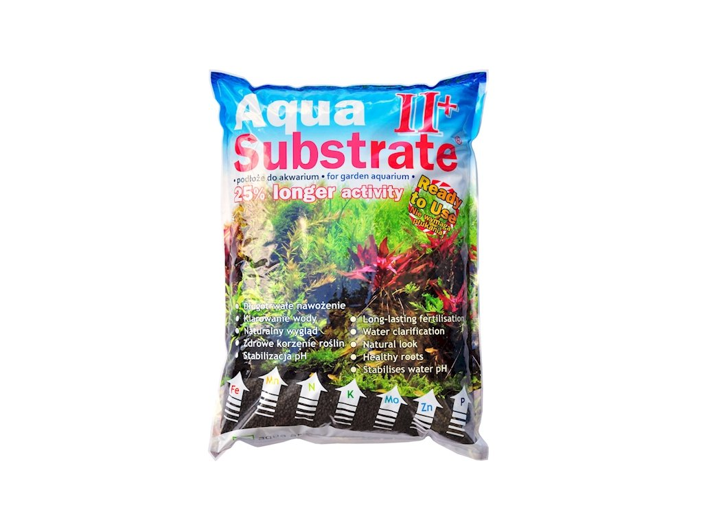 AQUA SUBSTRATE II+ 5,4 KG (CZARNE)