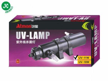 14022 jk animals uv lampa atman uv 11 w 1