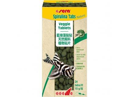 Sera Spirulina Tabs Nature 24 Tab.