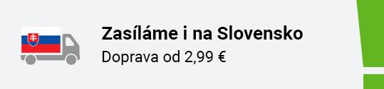 Zasíláme nově i na Slovensko
