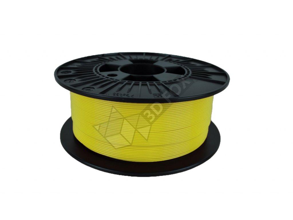 filament + váza yellow (PETG)