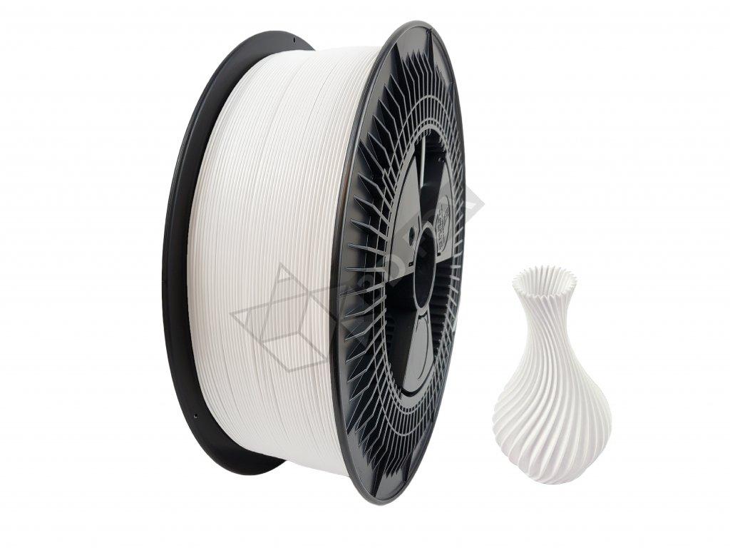 filament + váza white (NEW) 3 kg