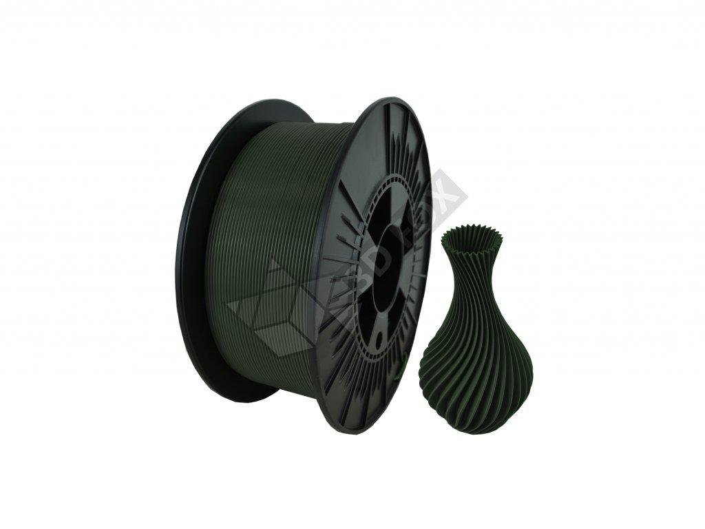 filament + váza mystic green