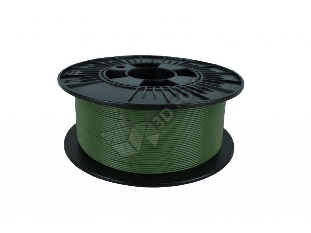 filament + váza military green