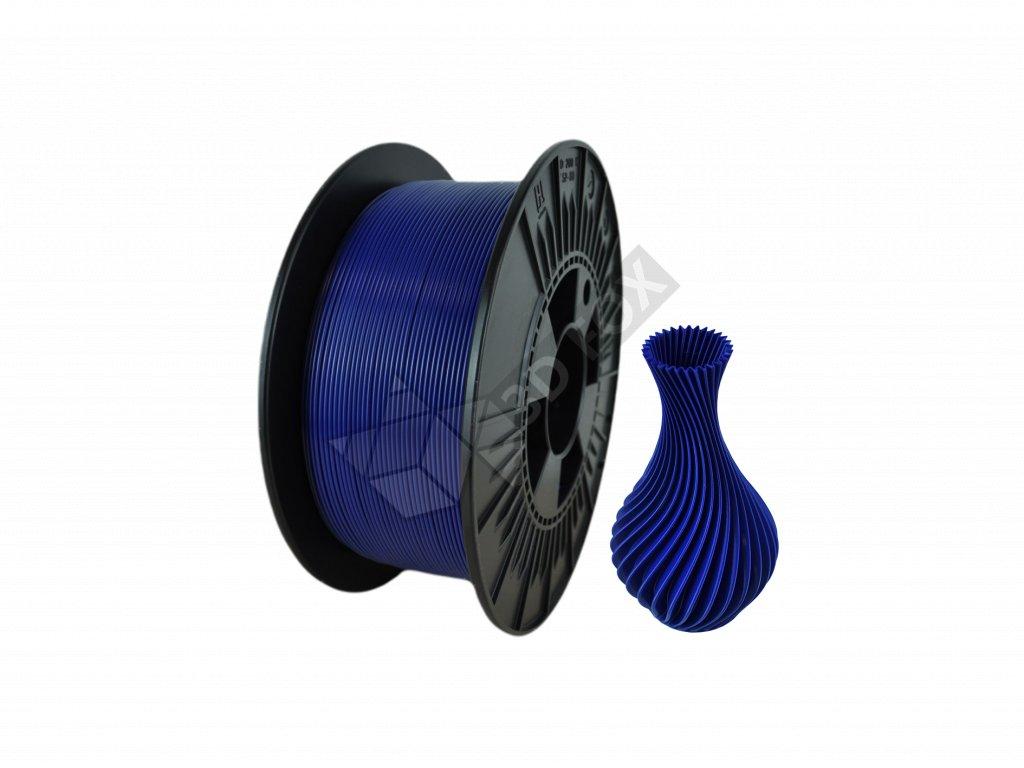 filament + váza dark blue