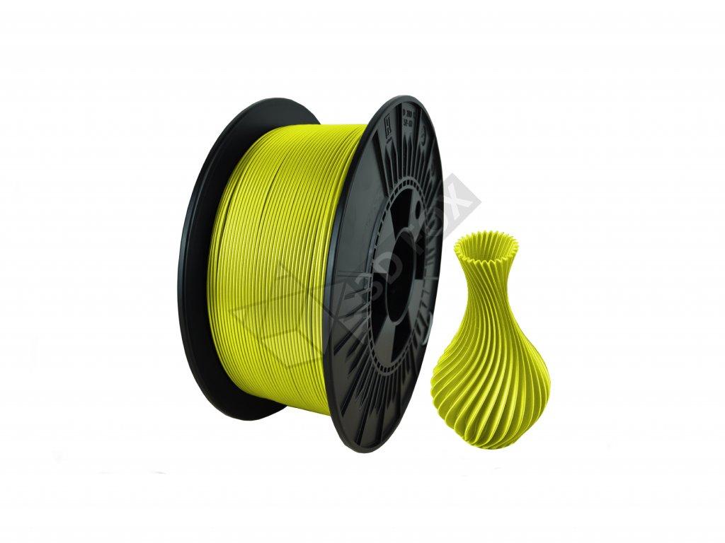 filament + váza yellow fluo