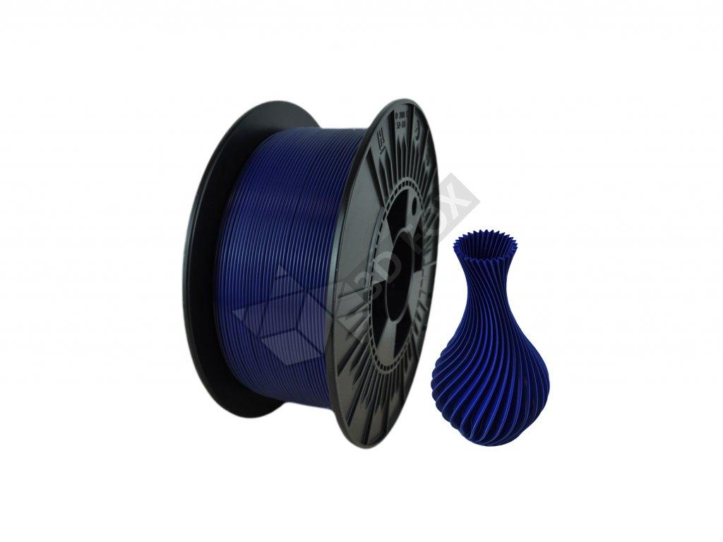 filament + váza navy blue