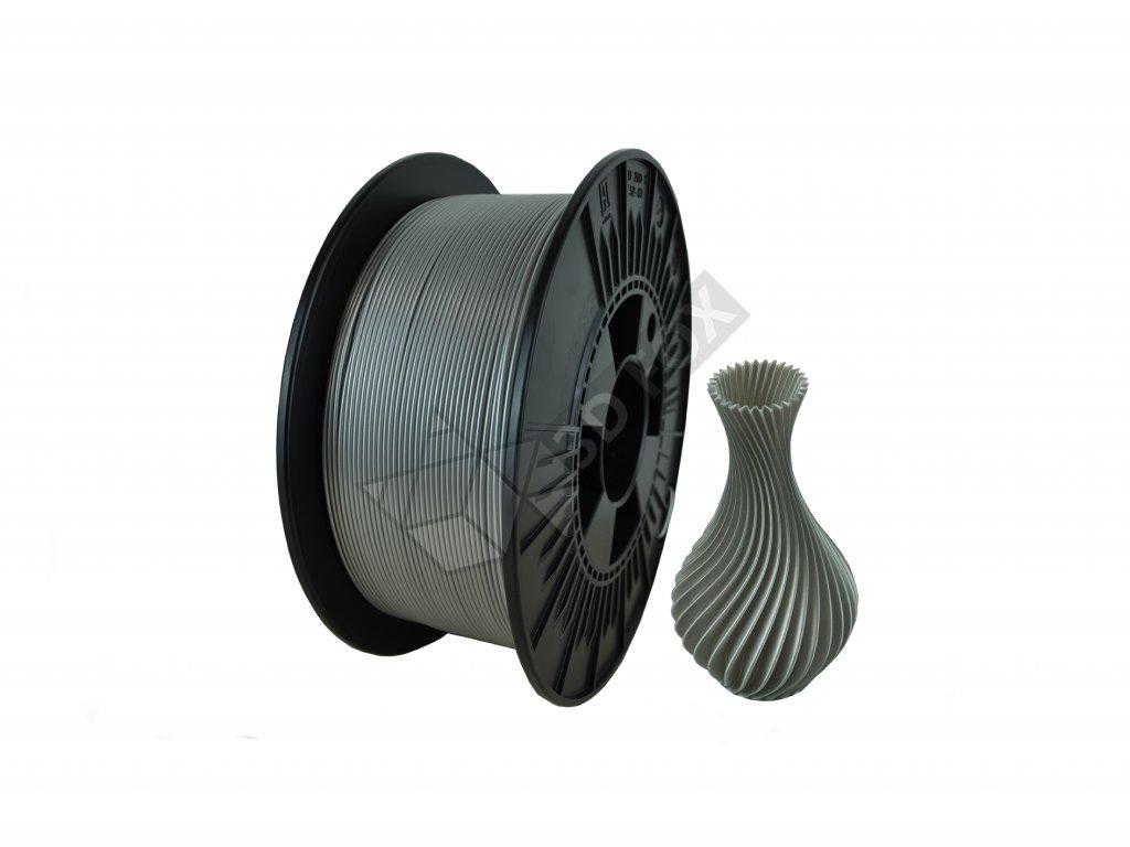 filament + váza arctic silver