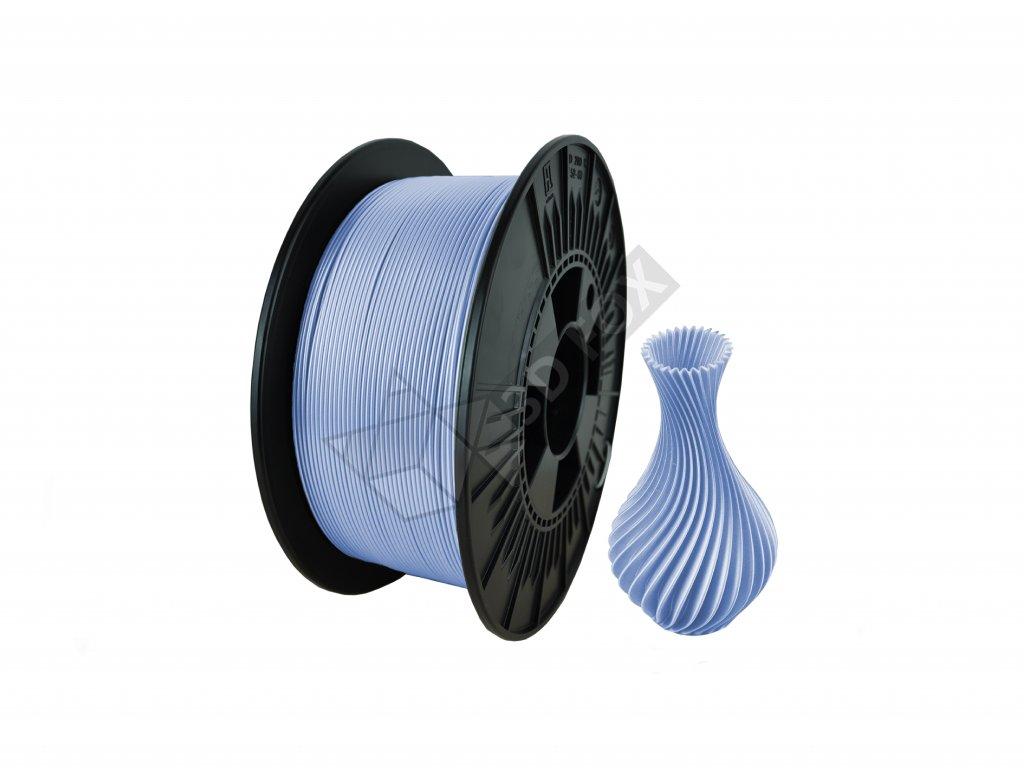filament + váza glowing blue