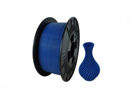 filament + váza aquamarine blue