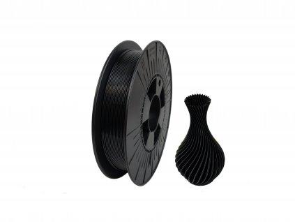 filament + váza black 0,5kg (NEW)