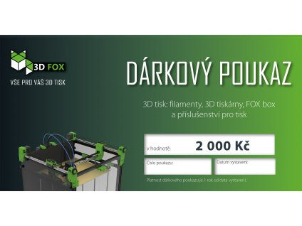 3DFOX dárkový poukaz297x104 2000