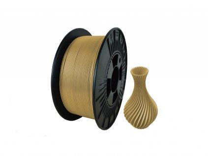 filament + váza light brown (PETG)