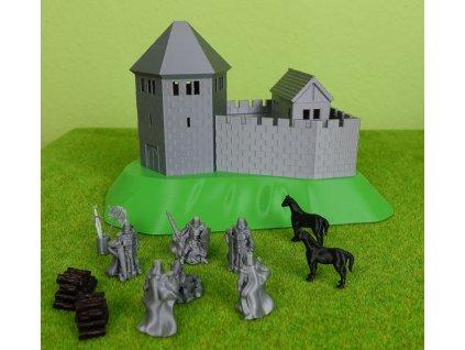 Stavebnice dětský Hrad FOX Castle