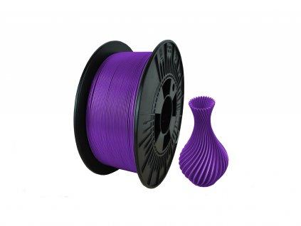 filament + váza liliac violet