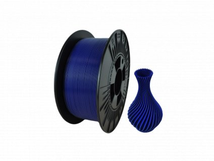 filament + váza dark blue