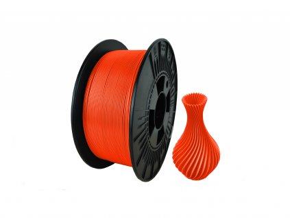 filament + váza orange fluo
