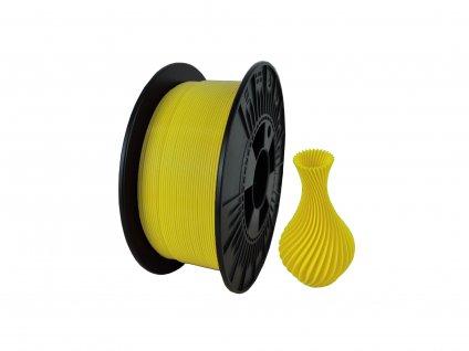 filament + váza sunny yellow