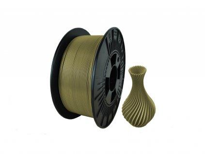 filament + váza old gold (new)