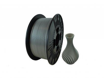 filament + váza metalic silver