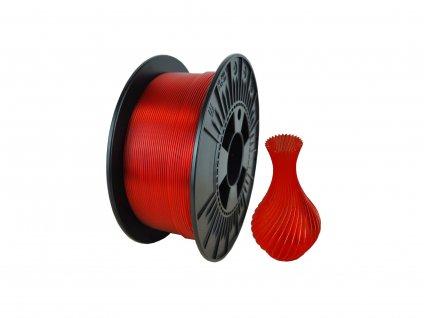 Filament NEBULA PETG rubínově červená 1 kg