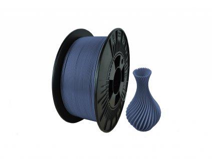 filament + váza PLA termo blue