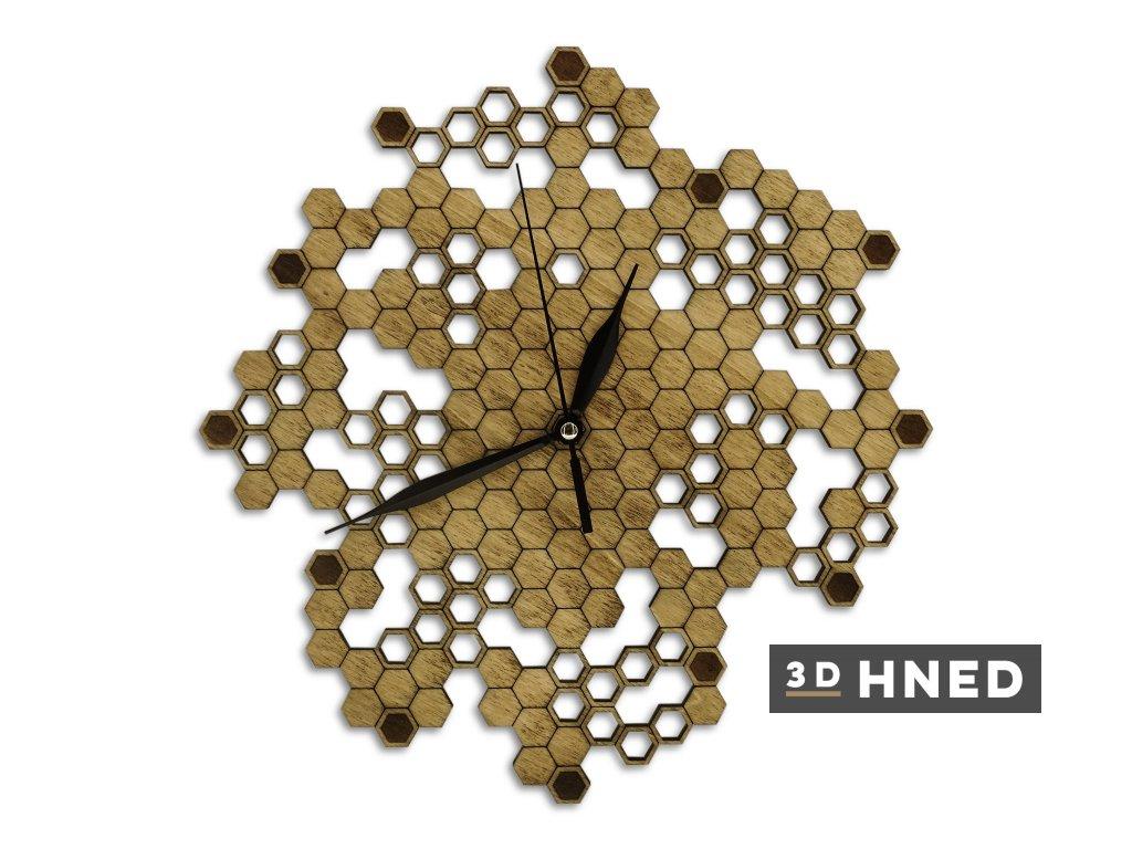 Hodiny honeycomb 2