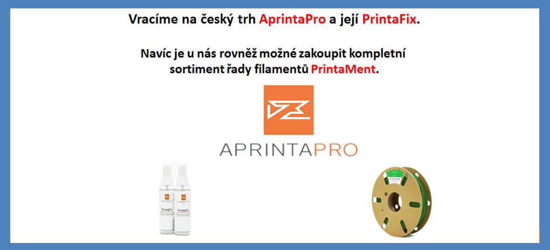 AprintaPro jedině na 3DprintCZ.cz