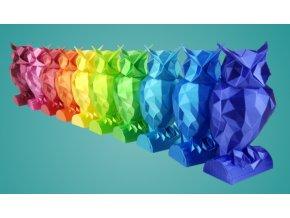 Fibersilk Metallic filament 1,75mm 0,85kg - Fiberlogy