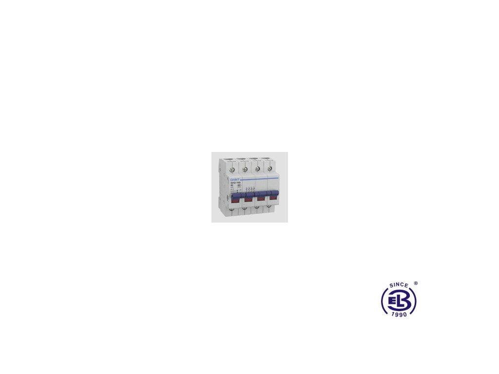 Vypínač 63A 4P 400V NH4-100 CHINT
