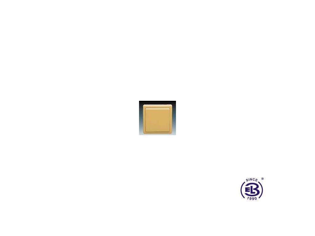 Spínač dvojpólový Classic, béžový, řazení 2, 3553-02289D2 ABB