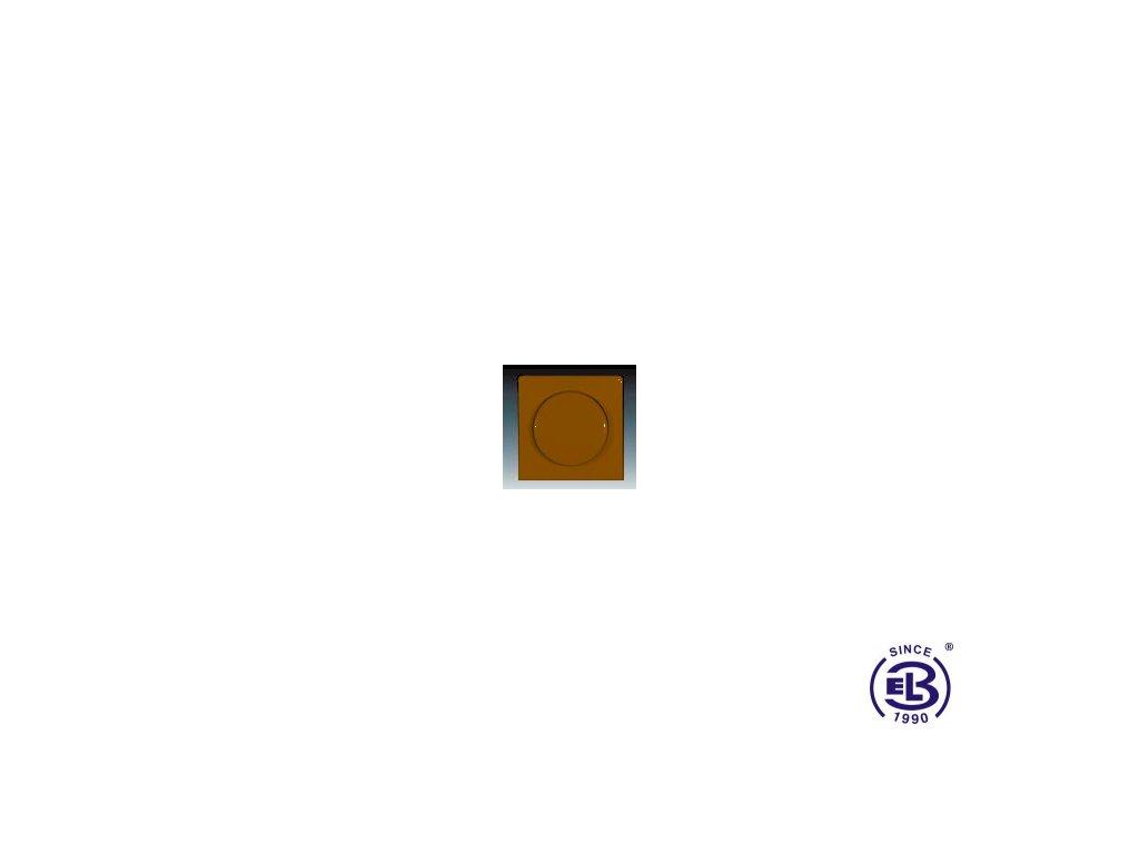 Kryt stmívače s otočným ovladačem Classic, hnědý, 3294C-A123H3 ABB