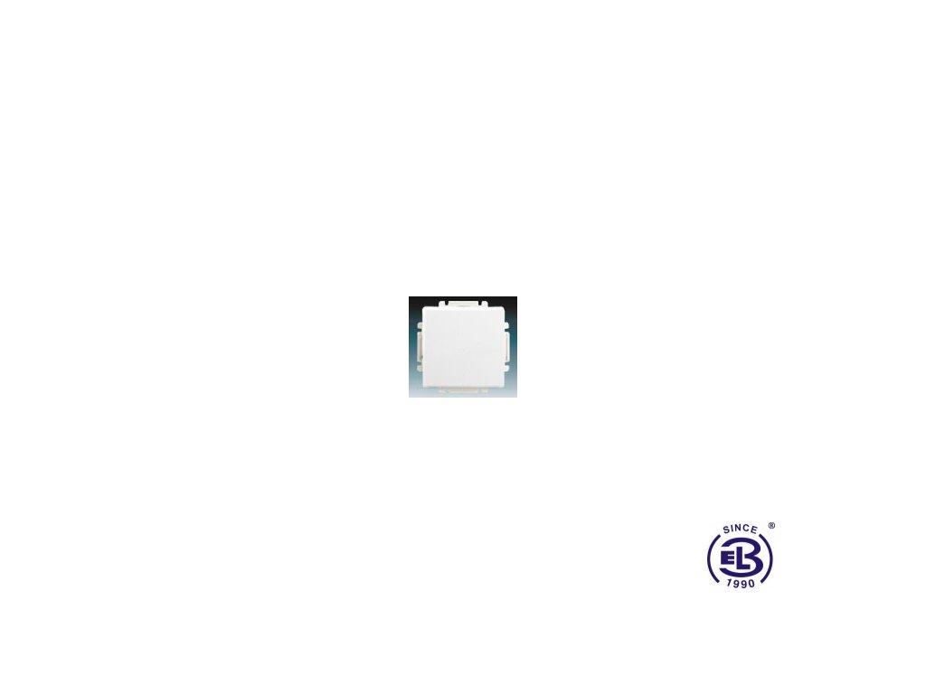 Spínač jednopólový s krytem Swing/Swing L, jasně bílý, řazení 1, 3557G-A01340B1 ABB