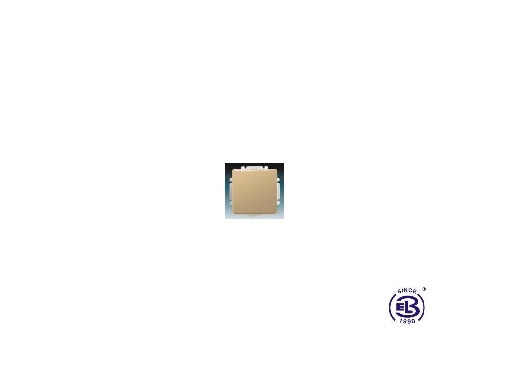 Spínač jednopólový s krytem Swing/Swing L, béžový, řazení 1, 3557G-A01340D1 ABB
