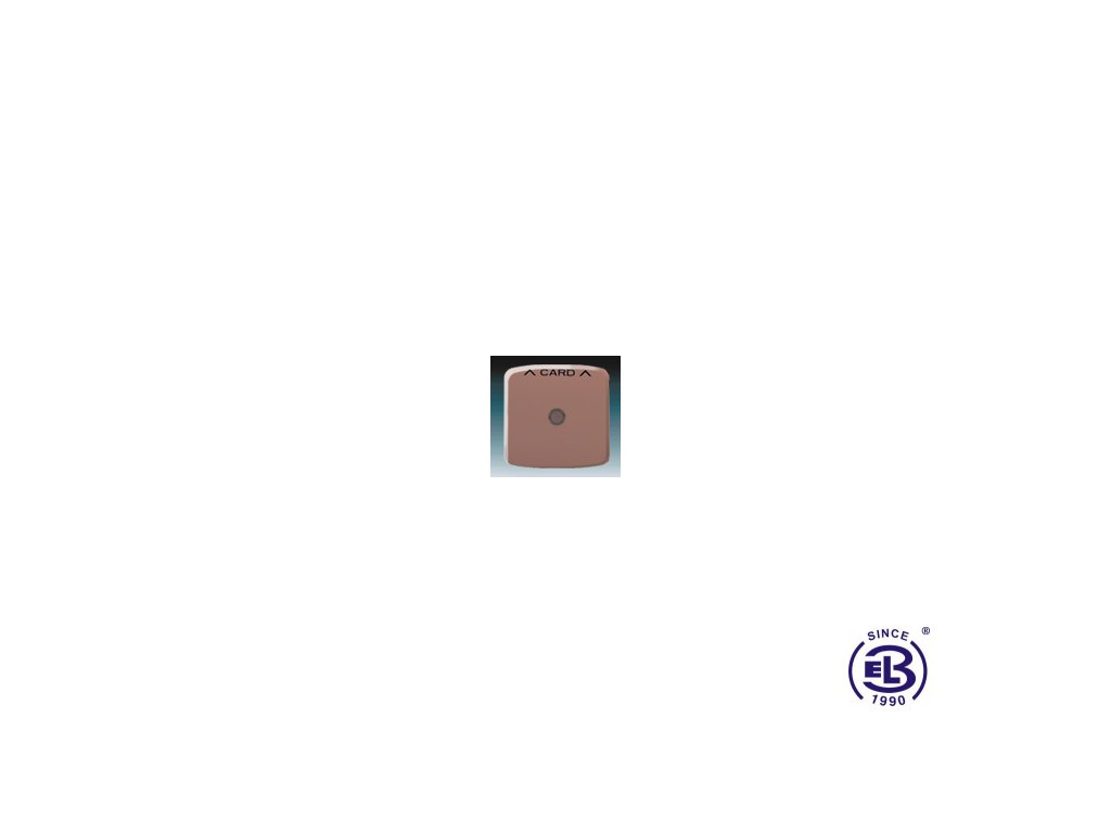 Kryt spínače kartového Tango, vřesová červená, 3559A-A00700R2 ABB
