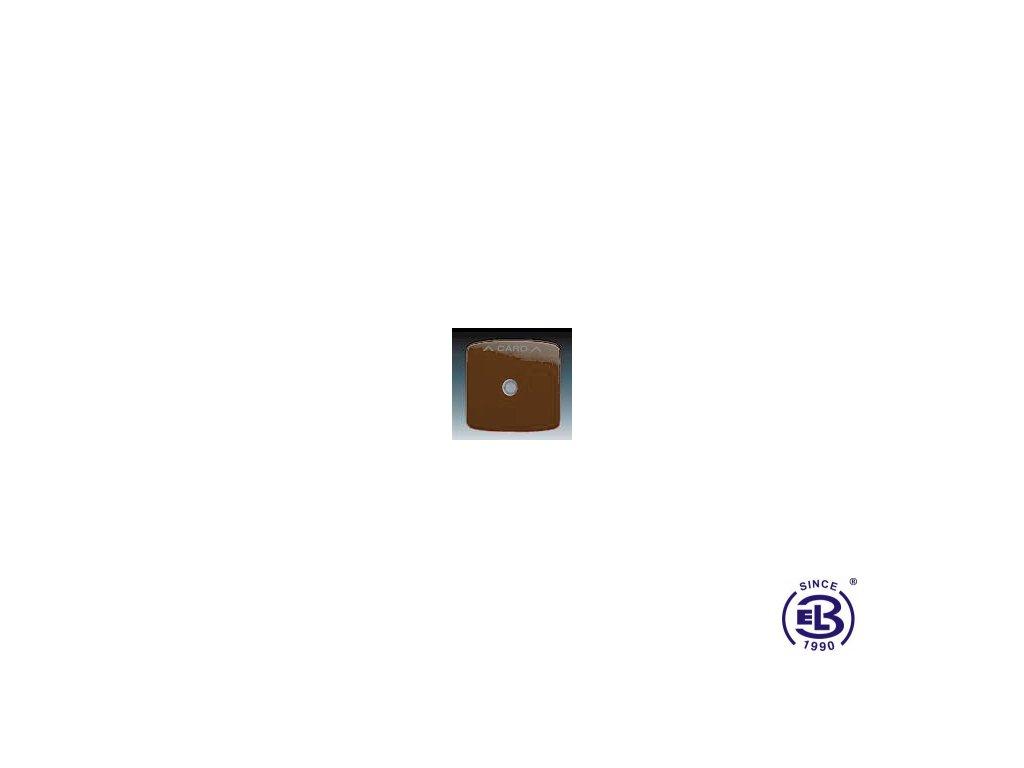 Kryt spínače kartového Tango, hnědá, 3559A-A00700H ABB
