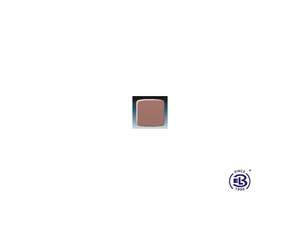 Kryt stmívače s krátkocestným ovladačem Tango, vřesová červená, 3299A-A100R2 ABB