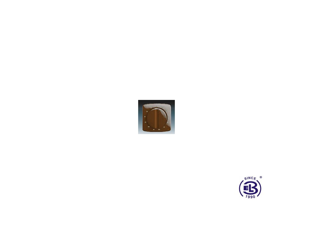 Kryt ovládače časového mechanického Tango, hnědá, 3294A-A00160H ABB