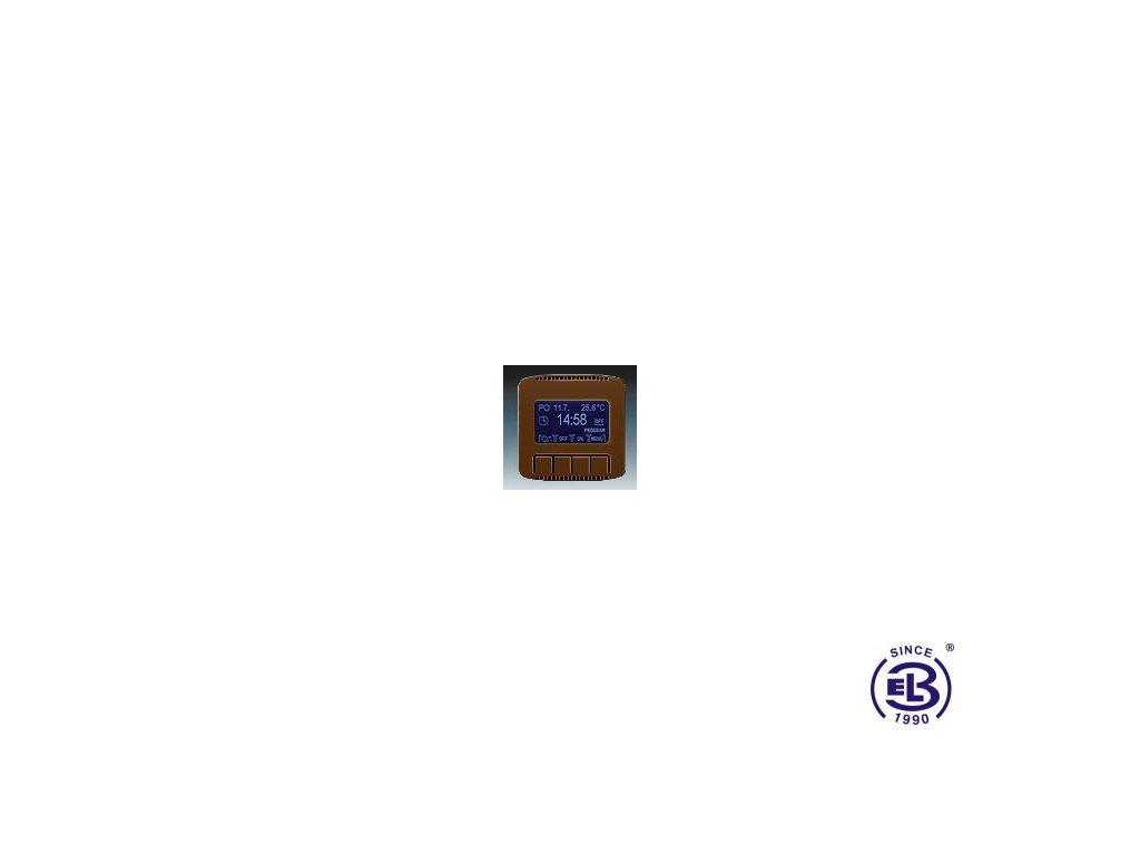 Hodiny spínací programovatelné Tango, hnědá, 3292A-A20301H ABB