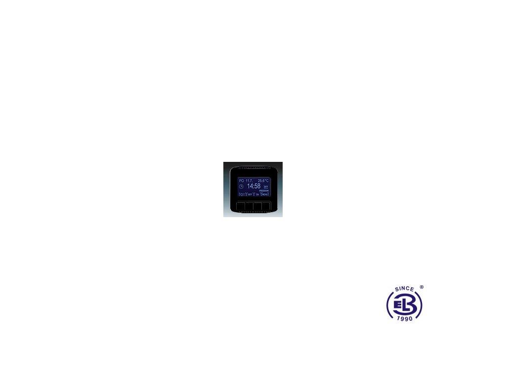 Hodiny spínací programovatelné Tango, černá, 3292A-A20301N ABB