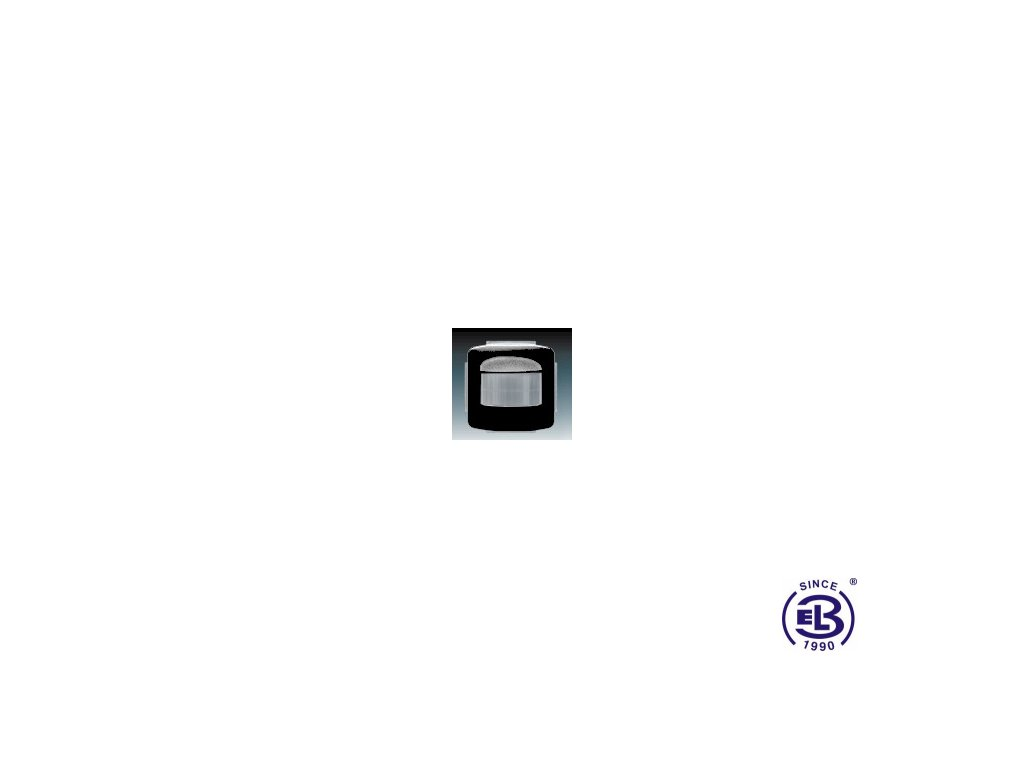 Spínač automatický se snímačem pohybu Tango, černá, 3299A-A22180N ABB