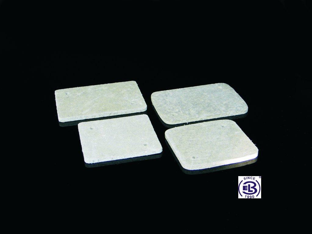 Podložka tepelně izolační 80x80x5, PI 80R KOPOS